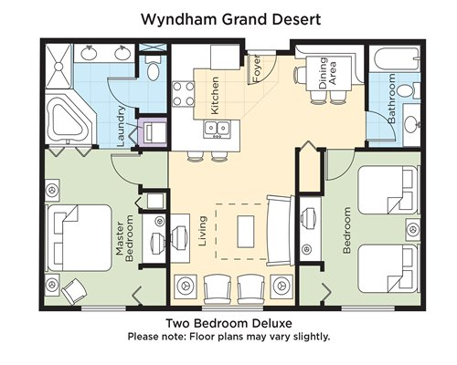 wyndham grand desert room floor plans meze blog With wyndham grand desert room floor plans