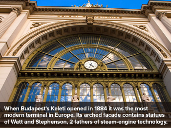 Europe's Railway Cathedrals
