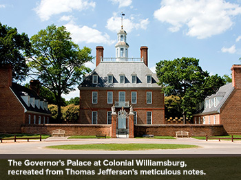 Past Meets Present in Colonial Williamsburg