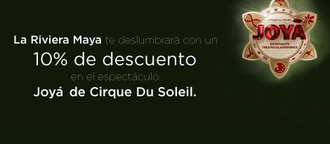 """""""Cirque du Soleil Riviera Maya Noviembre, 2015 Sé de los primeros en obtener boletos"""""""